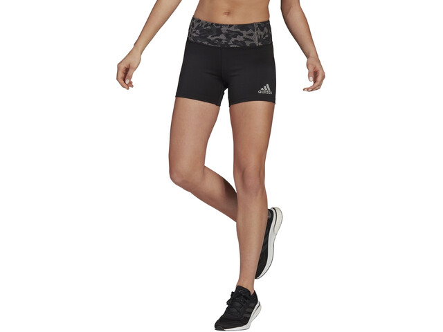 "adidas Primeblue Shorts 4 "" Damer, grå/sort"